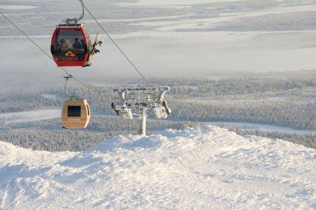 Летучая сауна, Финляндия